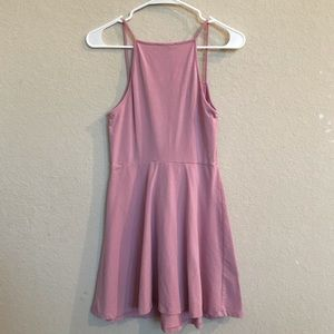Dusty pink dress